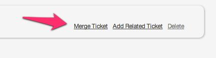 Merging Tickets