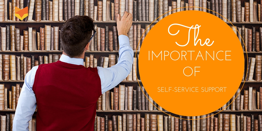 Help Yourself! The Many Faces of Self-Service and Why They are Vital to Success!