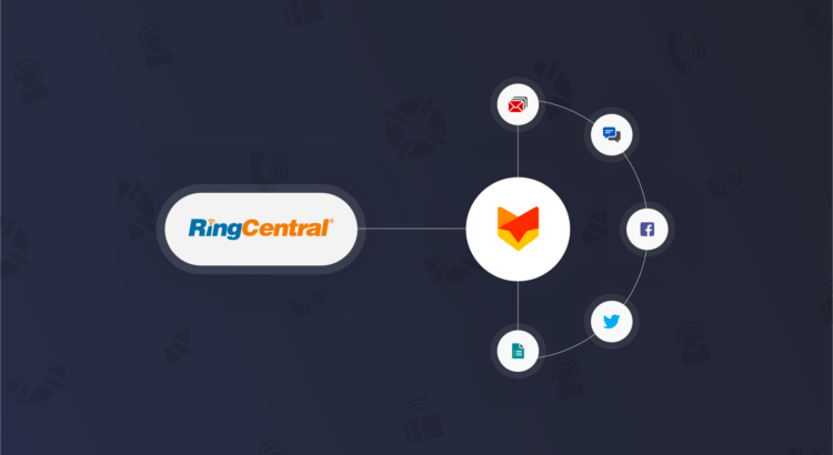 RingCentral + HappyFox