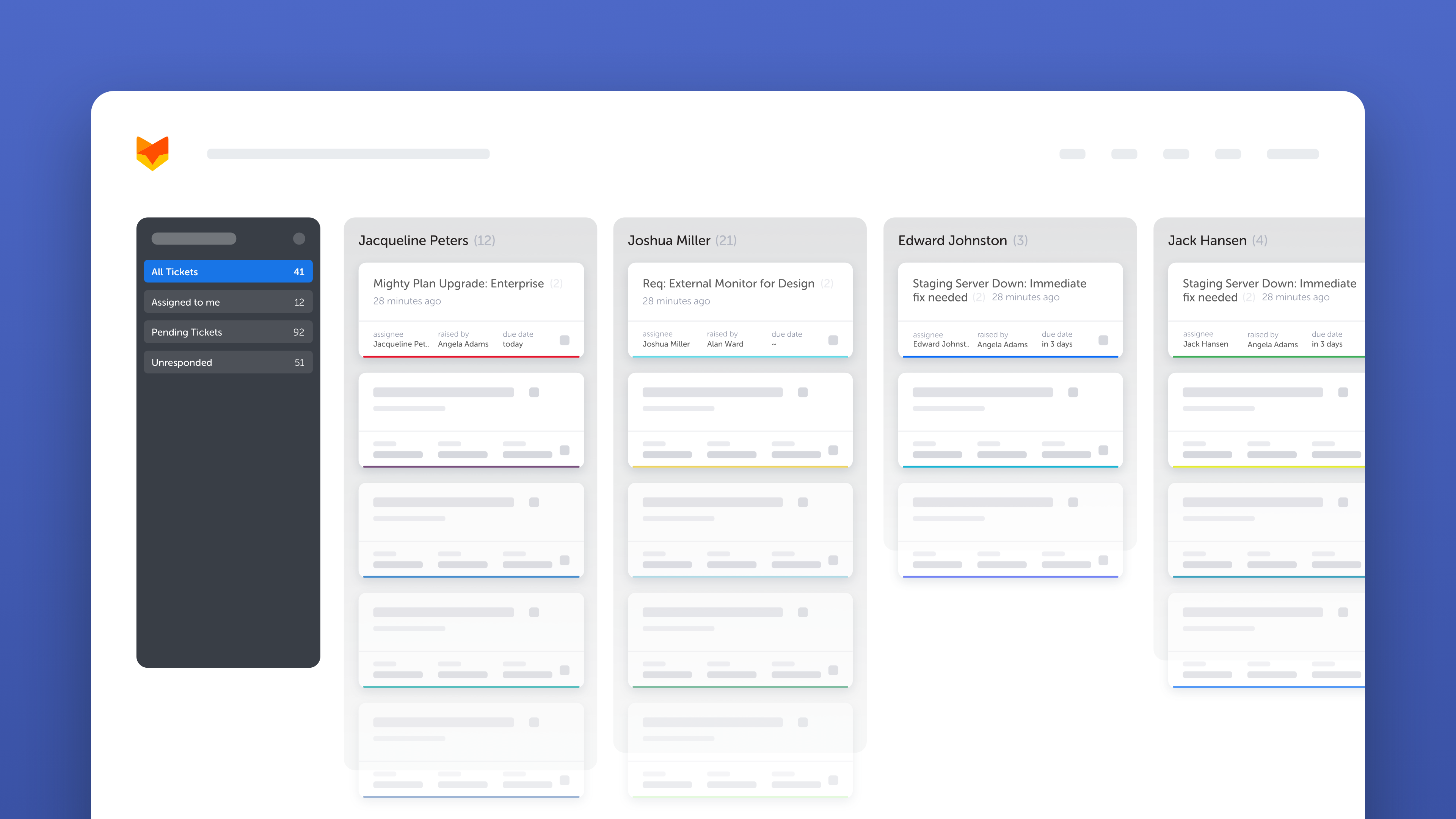 Kanban View for your Agile Help Desk