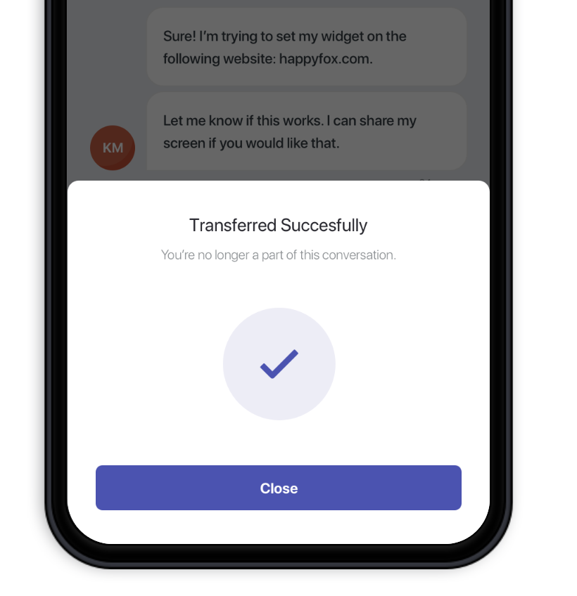 Preview: New HappyFox Chat Mobile App