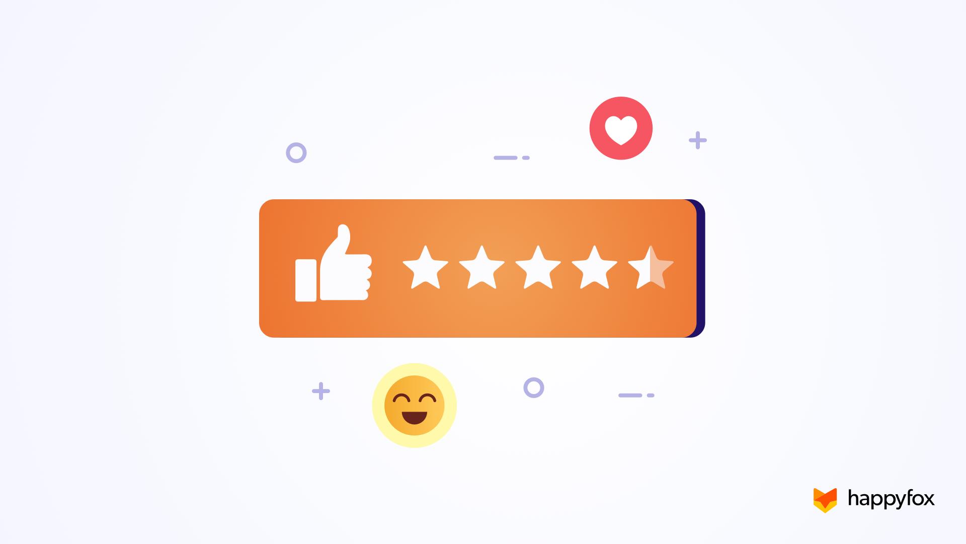 Measure Customer Happiness – Create Satisfaction Surveys in HappyFox Help Desk
