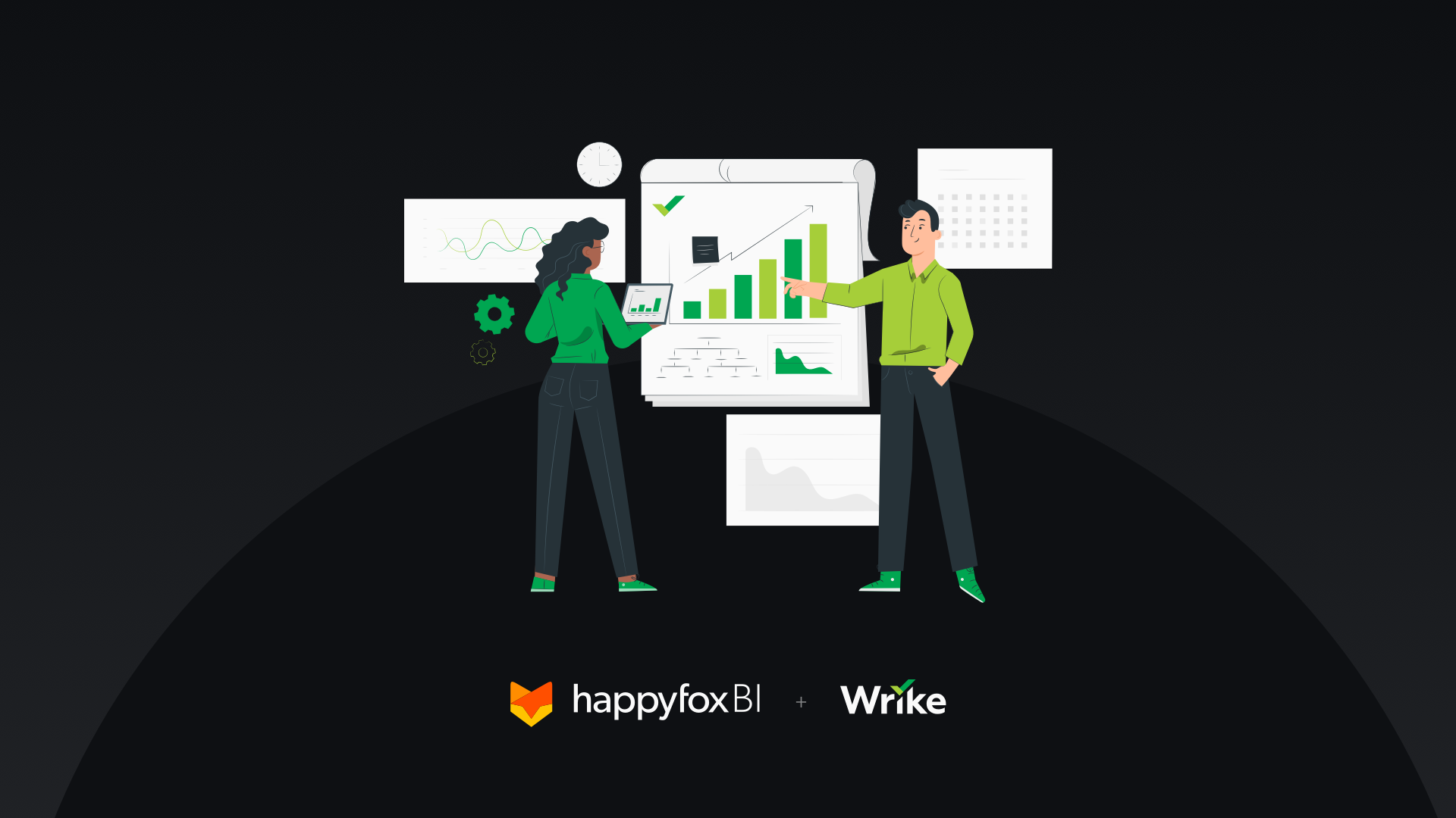 HappyFox BI for Wrike: 6 steps to get started on your first Dashboard!