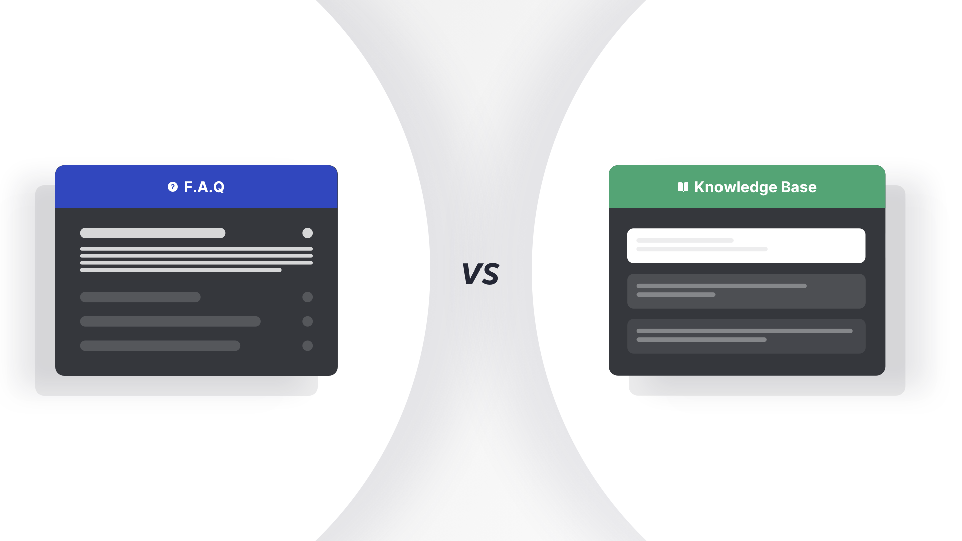 FAQs vs Knowledge Base – Why you should switch