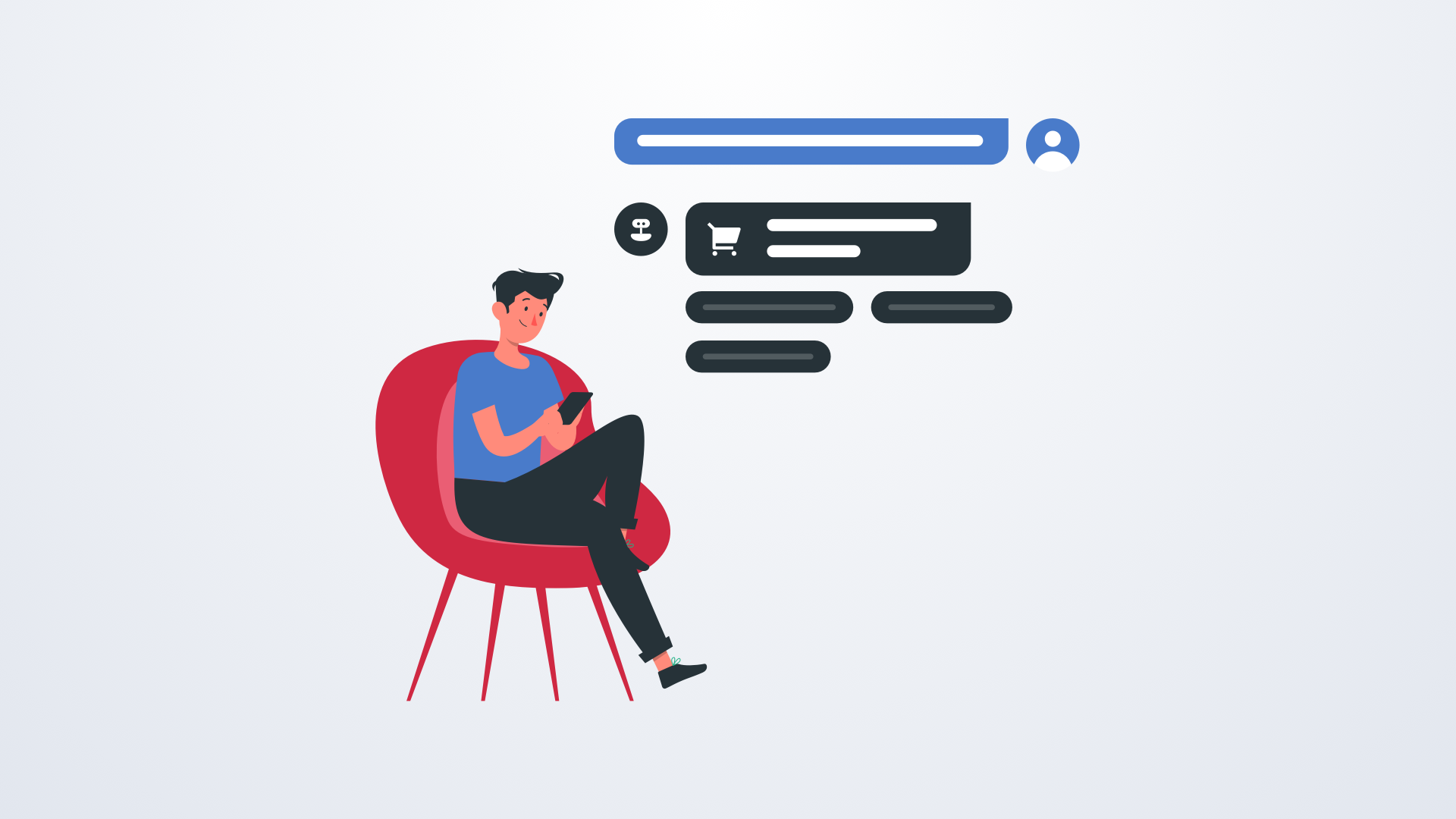 5 Reasons for Using Chatbot in your E-commerce Website