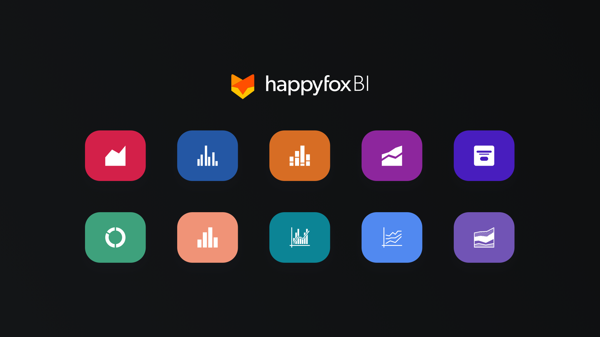 Top 10 Data Visualizations in HappyFox Business Intelligence Software