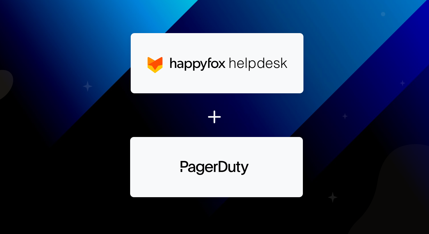 HappyFox + PagerDuty: Real-Time Customer Service Meets Modern Incident Management
