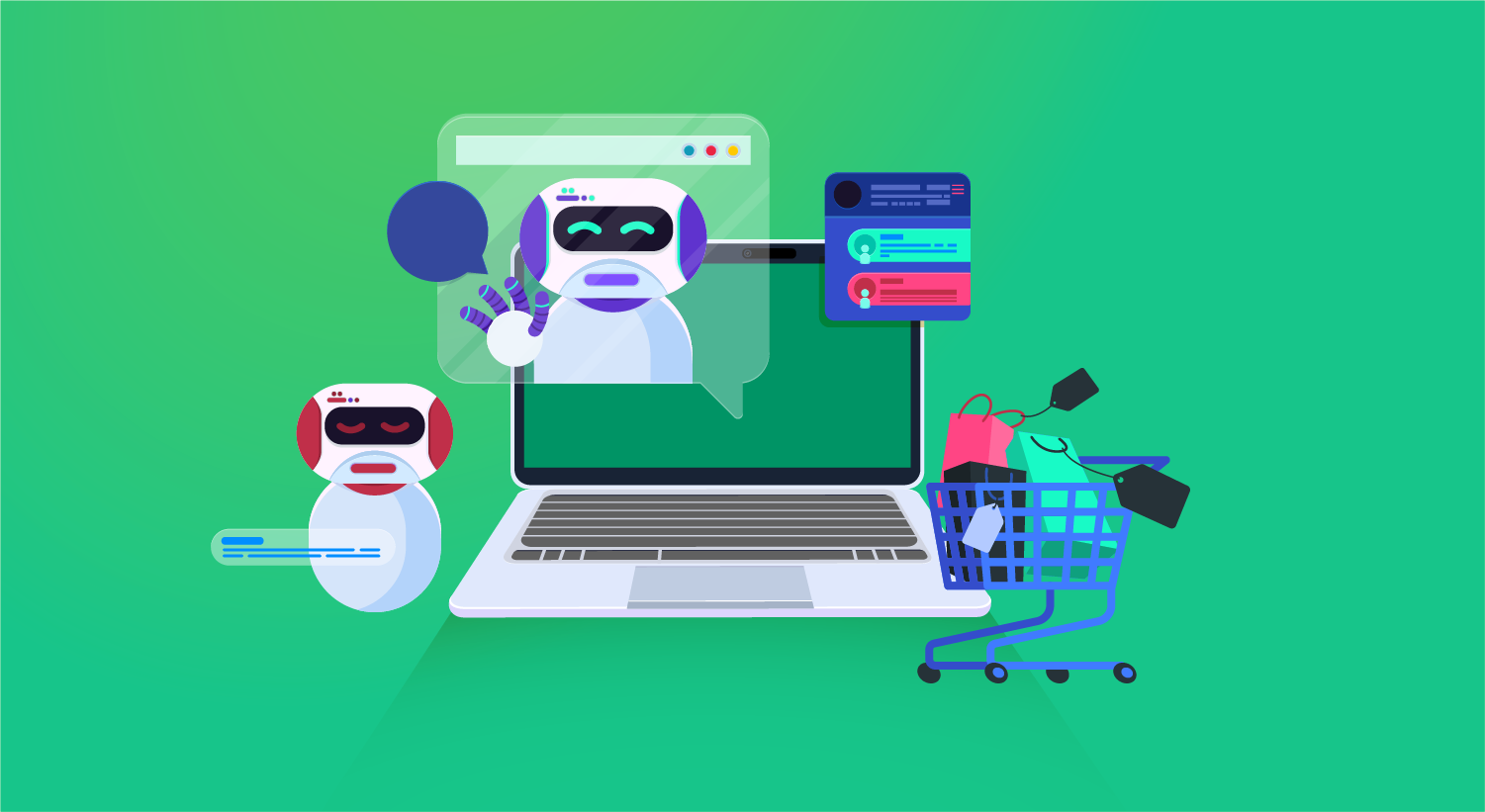 6 Great Examples of E-Commerce Chatbots