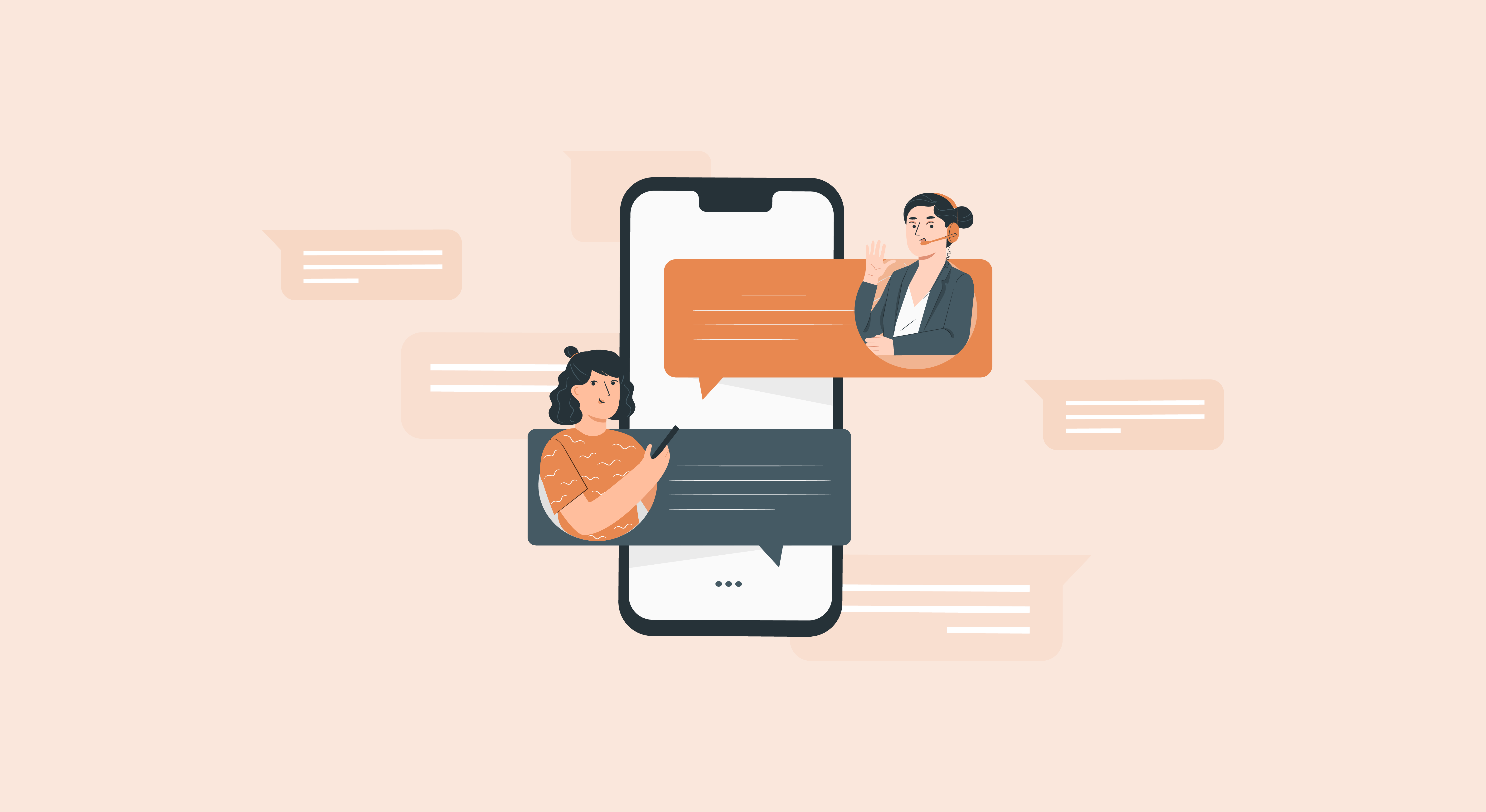 A Guide to In-app Chat for Mobile Customer Support