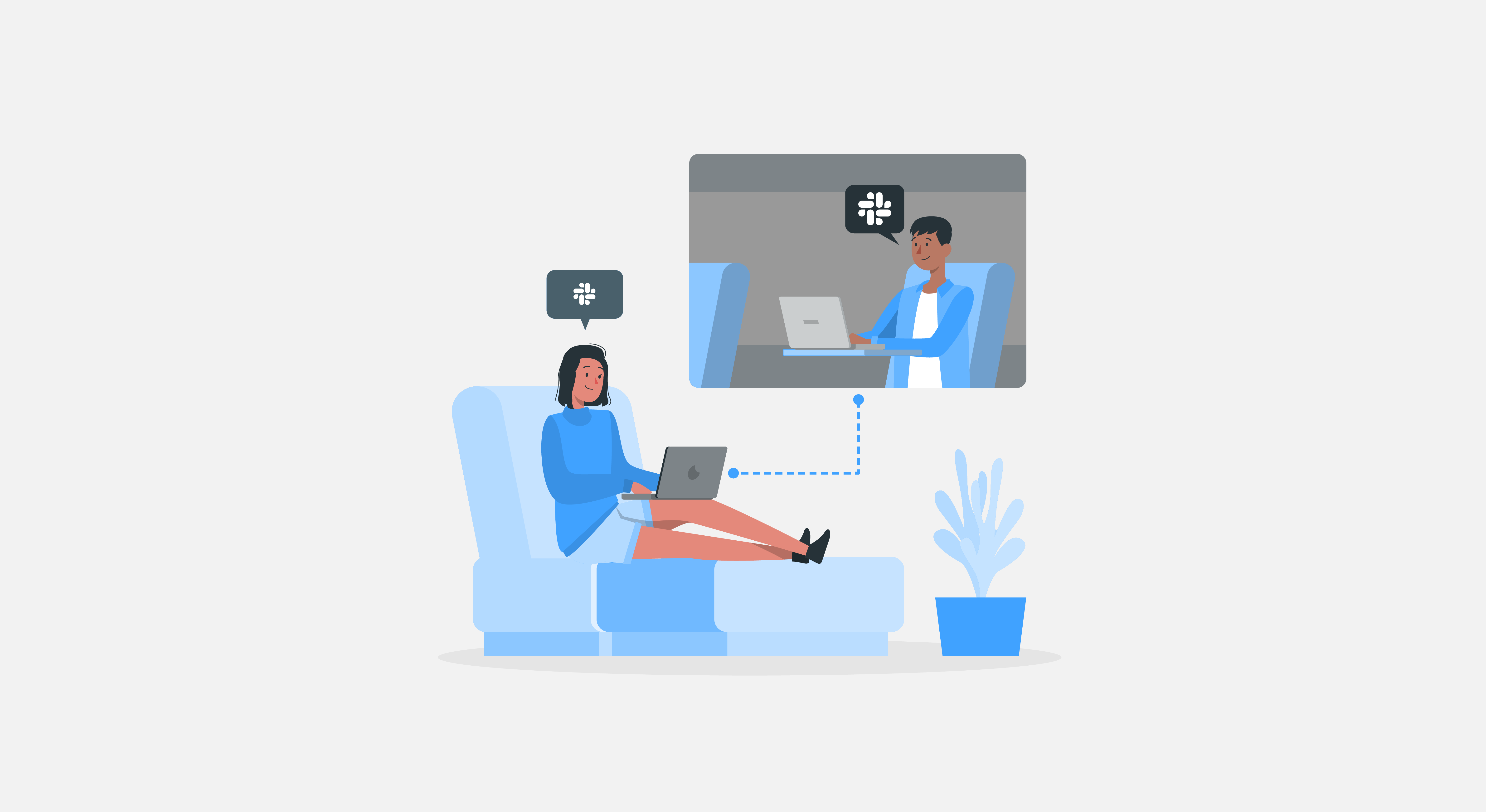 5 Remote Work Challenges and How to Overcome Them With Help Desk – Slack Integration